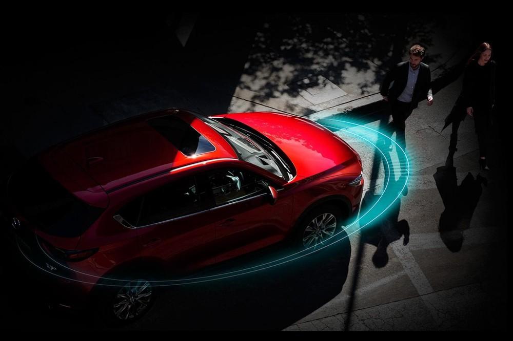 Gói công nghệ i-Activsense chính là điểm nhấn của New Mazda CX-5.
