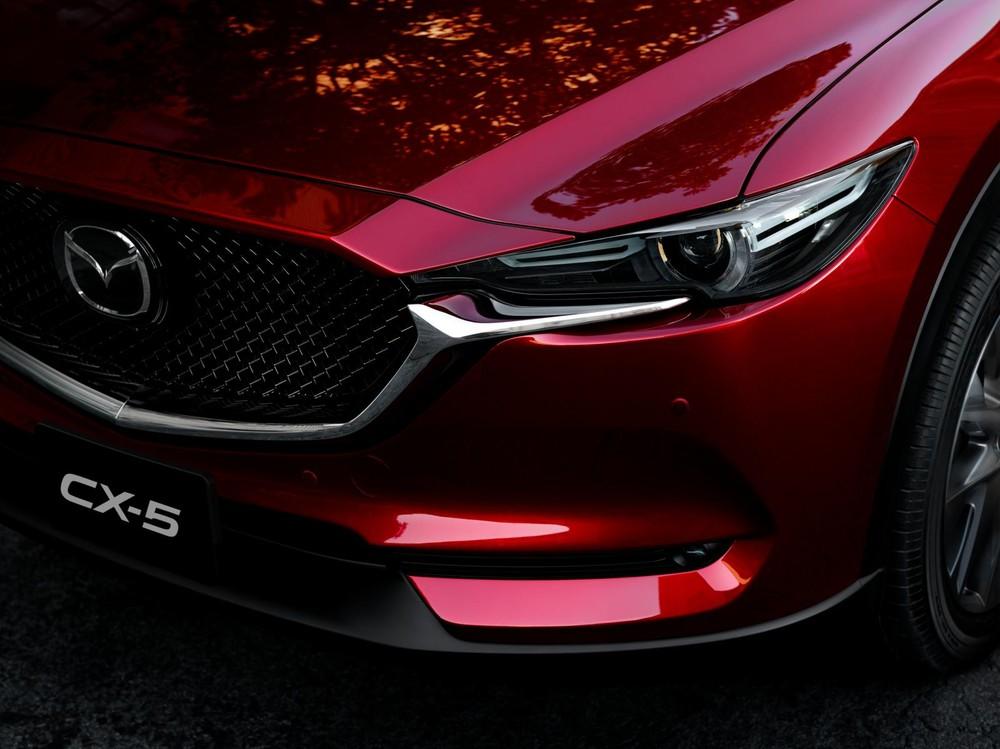 New Mazda CX-5 sở hữu thiết kế thanh lịch, sang trọng.