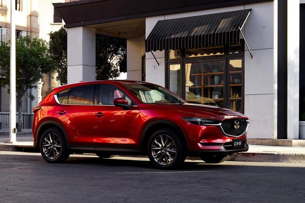 New Mazda CX-5.