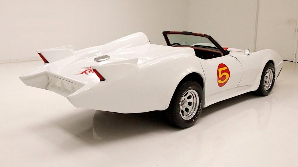 Phía sau của Chevrolet Corvette Speed Racer Mach 5 1979