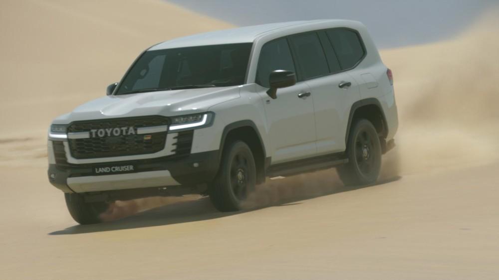 Toyota Land Cruiser GR Sport 2022 hiện chưa chính thức ra mắt