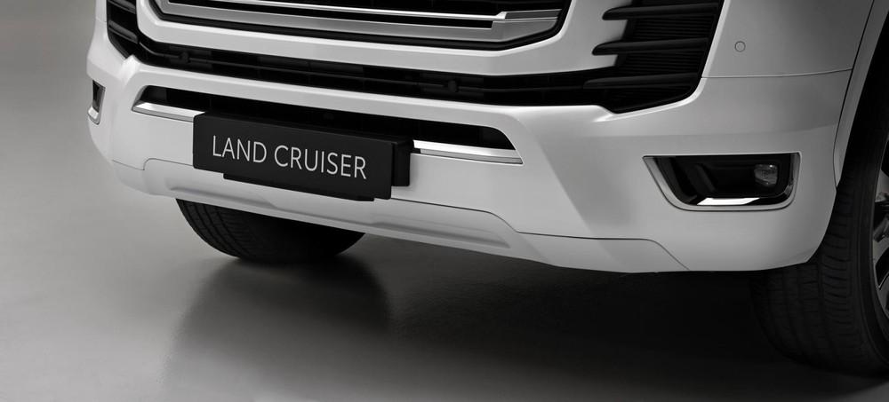 Thiết kế cản trước của Toyota Land Cruiser 2022