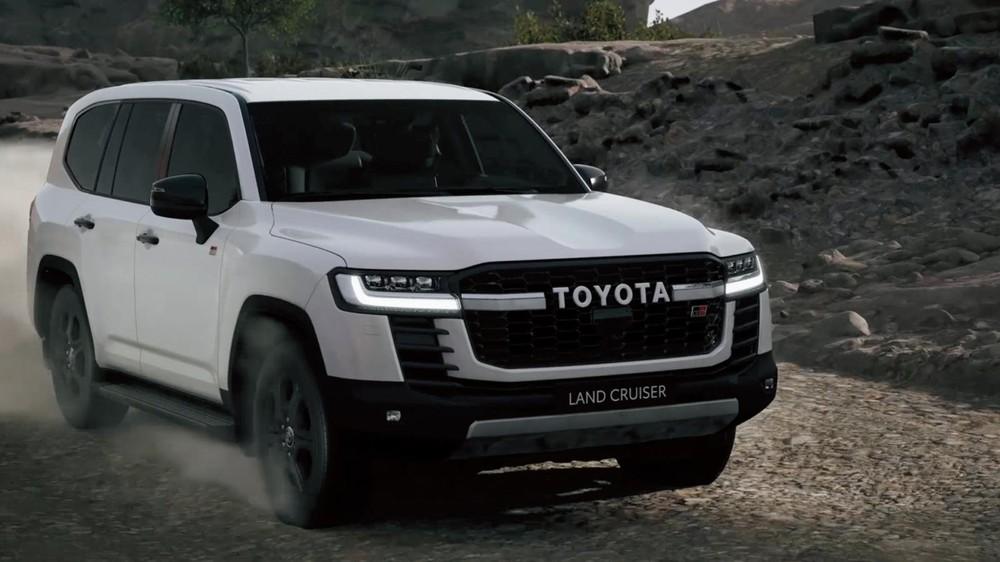 Toyota hé lộ thiết kế của Land Cruiser GR Sport 2022