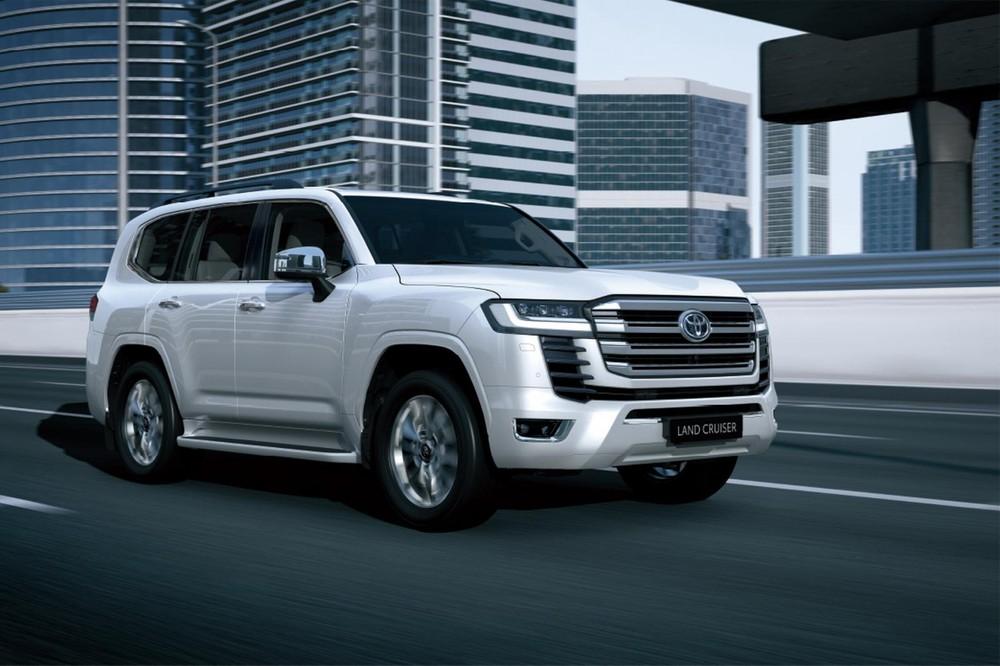 Toyota Land Cruiser 2022 không còn động cơ V8