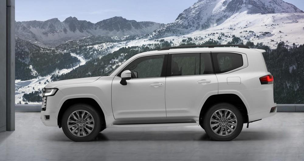 Thiết kế bên sườn của Toyota Land Cruiser 2022