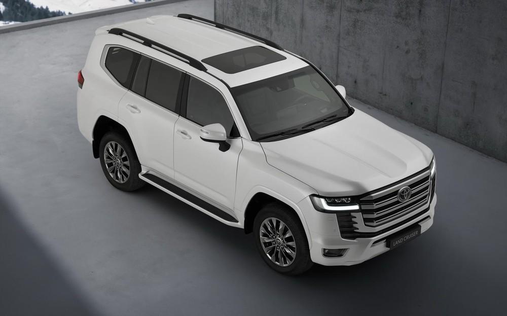 Toyota Land Cruiser 2022 có gói công nghệ an toàn Toyota Safety Sense