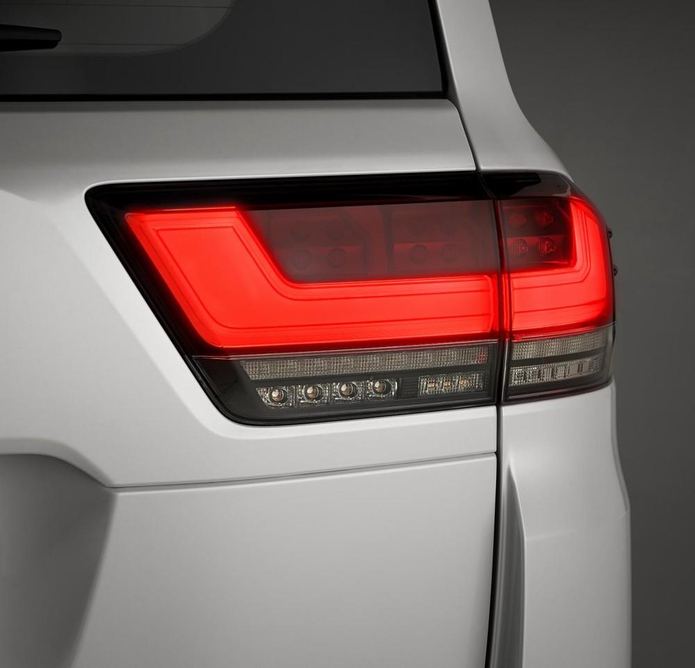 Đèn hậu mới của Toyota Land Cruiser 2022