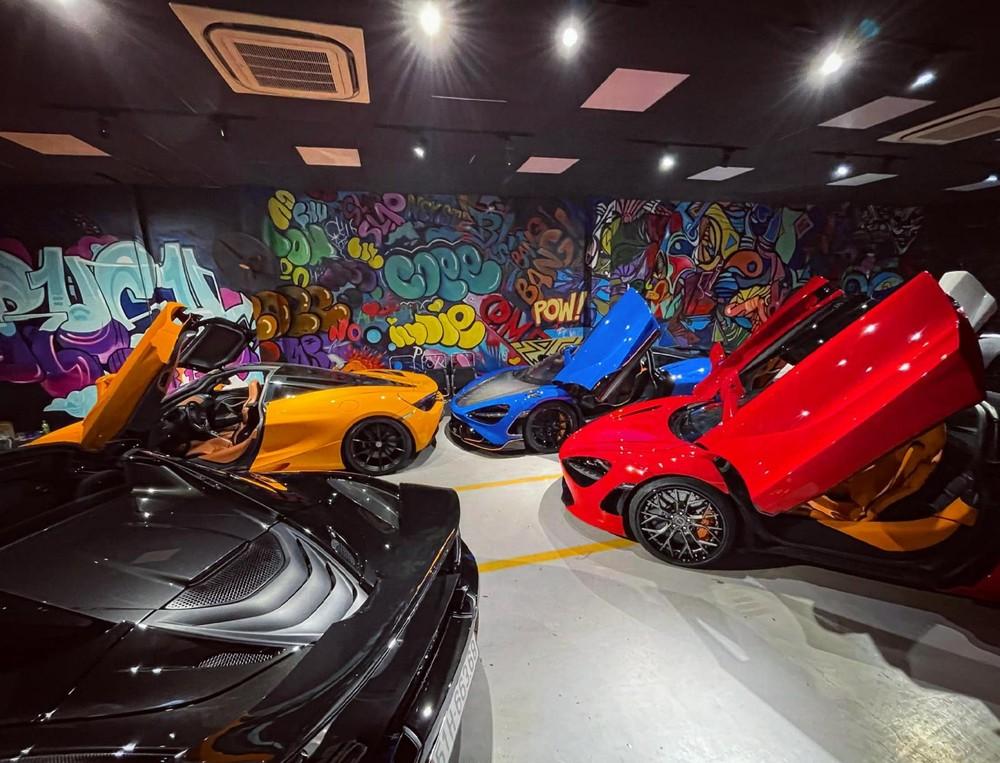 Hình ảnh này khiến không ít người nghĩ đây là showroom xe McLaren chính hãng