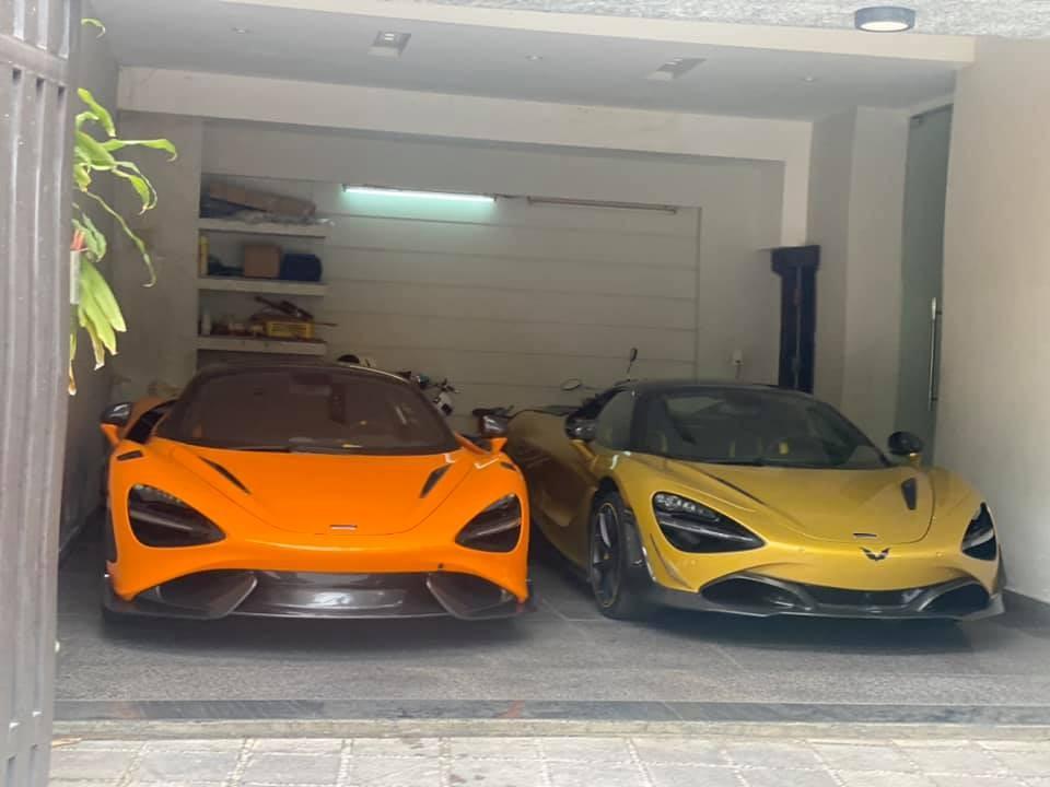 Hiện chiếc siêu xe mui trần McLaren 720S Spider màu trắng đã bị thay thế bằng mẫu xe McLaren 765LT chỉ được sản xuất giới hạn 765 chiếc
