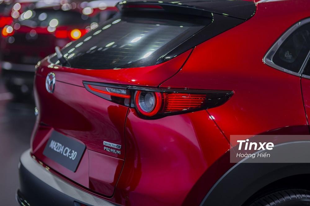 """Mazda CX-30 2021 được mệnh danh là """"tiểu CX-5""""."""