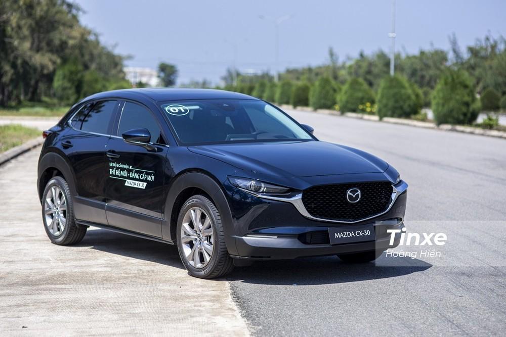 Tháng đầu giao xe chỉ có 135 chiếc Mazda CX-30 2021 được giao tới tay khách Việt.