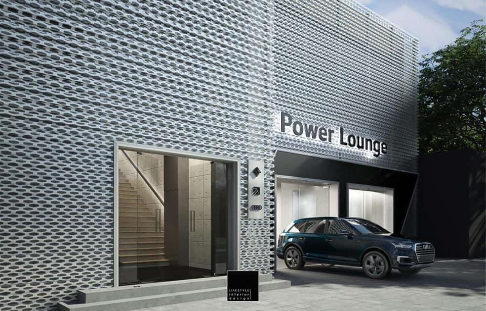 Đây mới chỉ là hình ảnh thiết kế của Audi Power Lounge và hoàn toàn có thể thay đổi khi đi vào sử dụng thực tế