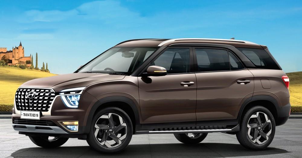 Hyundai Alcazar 2021 có một số thay đổi về thiết kế so với Creta