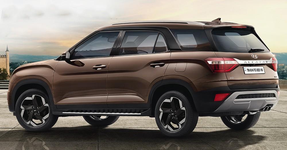 Hyundai Alcazar 2021 có chiều dài cơ sở khá lớn dù thuộc phân khúc SUV hạng B