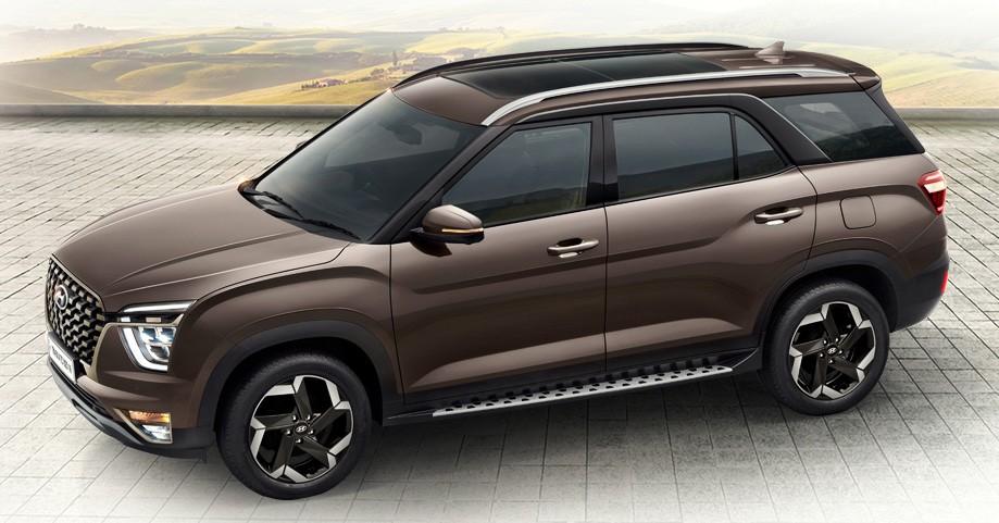 Hyundai Alcazar 2021 dành cho thị trường Ấn Độ