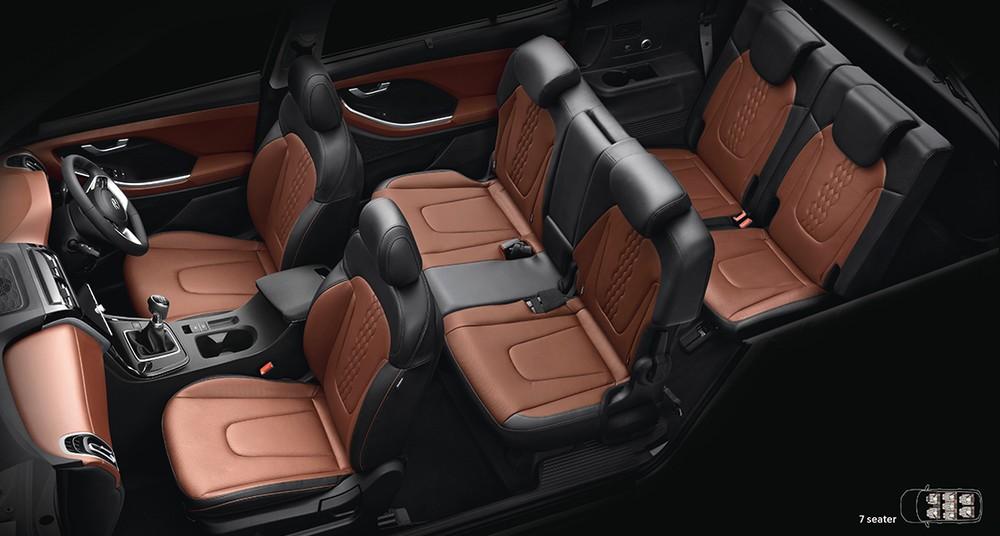 Thiết kế nội thất của Hyundai Alcazar 2021 bản 7 chỗ