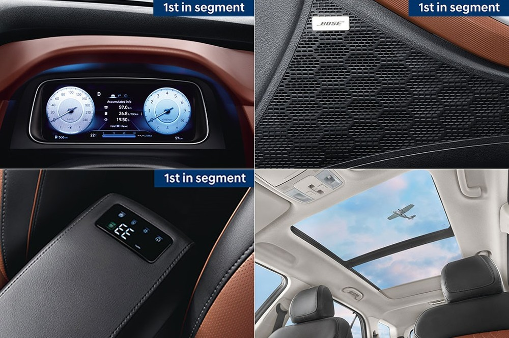 Những trang bị nội thất nổi bật của Hyundai Alcazar 2021
