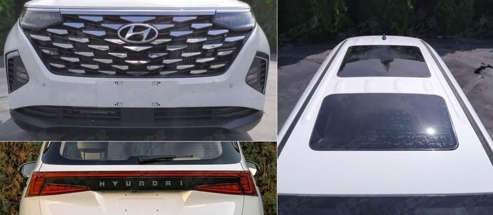 Hyundai Custo có cả cửa sổ trời toàn cảnh