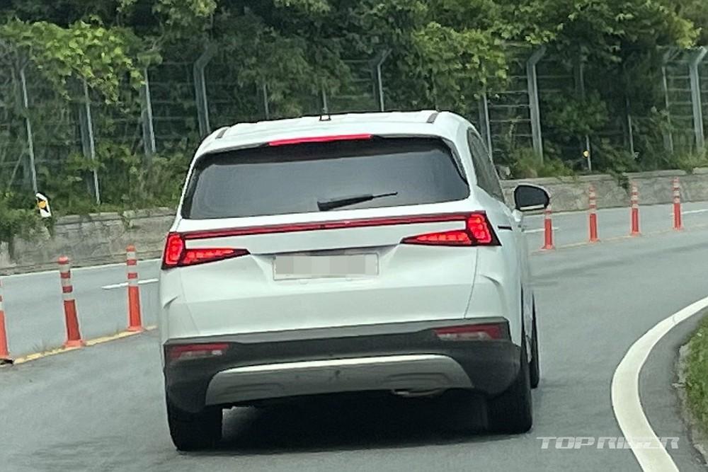 Thiết kế đằng sau của Hyundai Custo