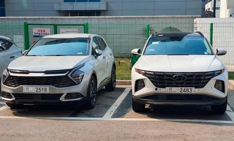 Kia Sportage 2022 dự kiến dùng động cơ giống Hyundai Tucson mới