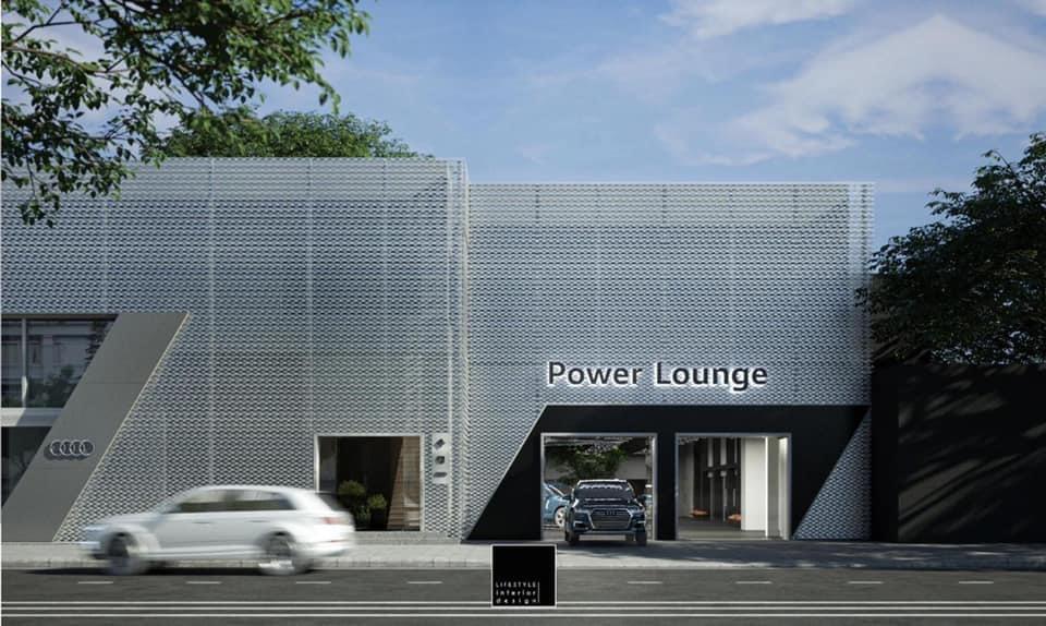Đại diện Audi hé lộ những hình ảnh thiết kế của Power Lounge tại thành phố Hồ Chí Minh.
