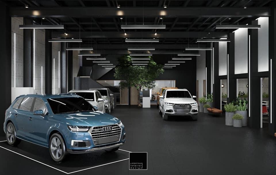 Không gian bên trong Power Lounge của Audi Việt Nam