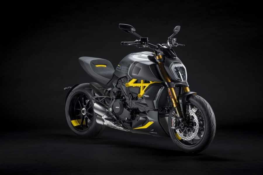 Ducati Diavel 1260 S vẫn giữ nguyên thiết kế và động cơ