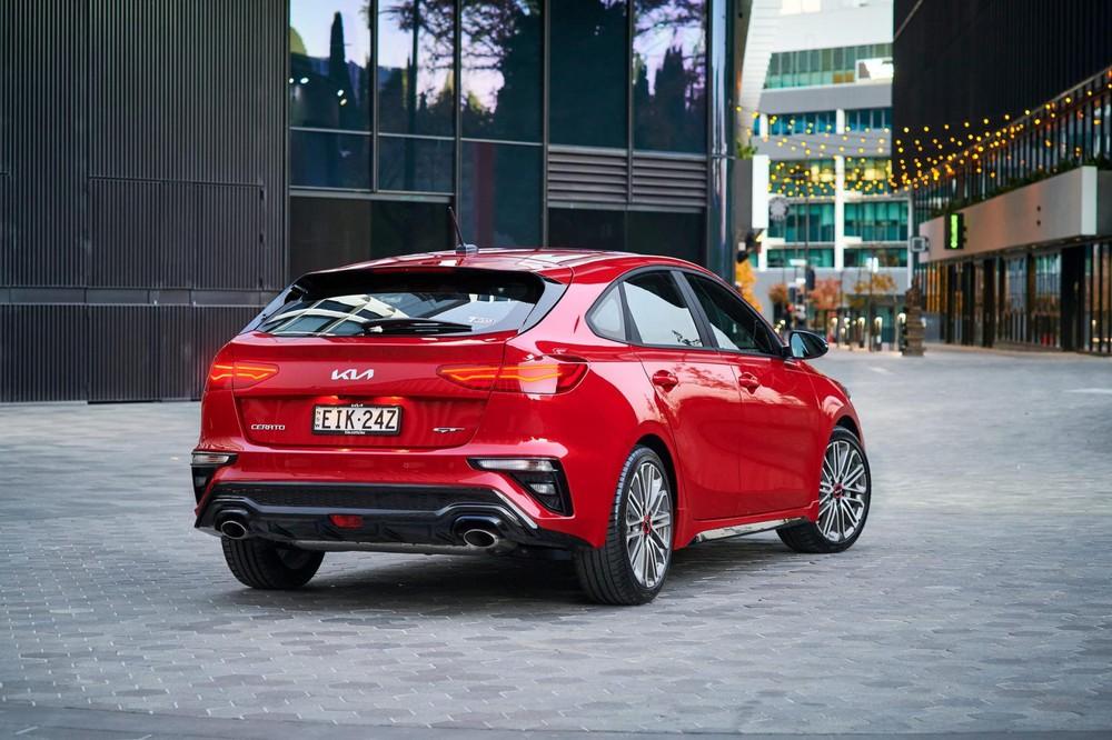 Kia Cerato 2022 bản GT có thiết kế ngoại thất riêng