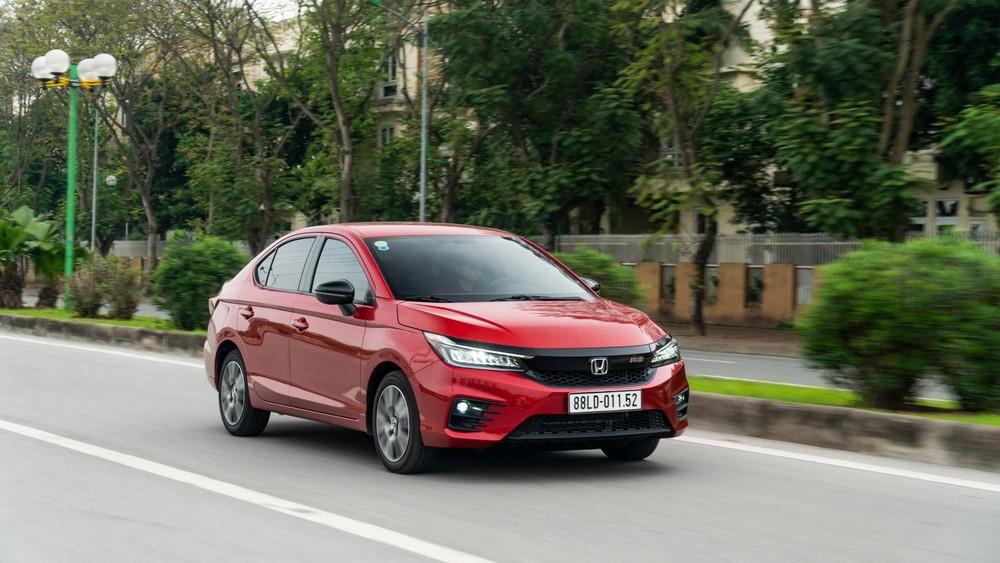 Sức tiêu thụ trong tháng 5/2021 giảm tới 22% nhưng Honda City vẫn là mẫu ô tô bán chạy nhất của Honda Việt Nam.