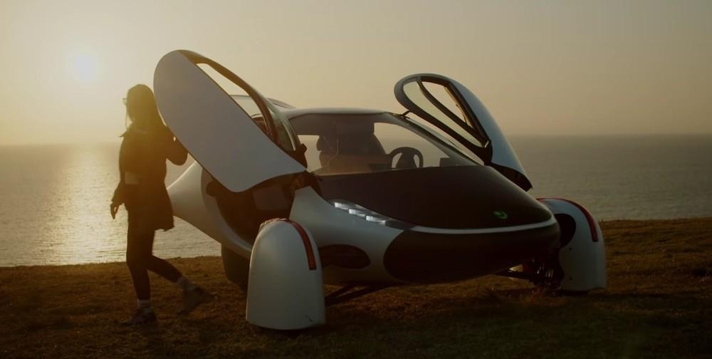 Aptera Sol là một mẫu xe thân thiện môi trường cực độc đáo