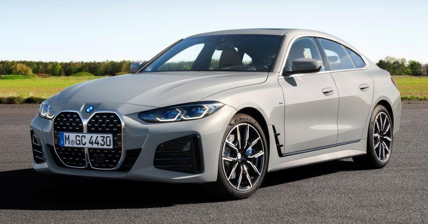 BMW 4-Series Gran Coupe 2022 trình làng