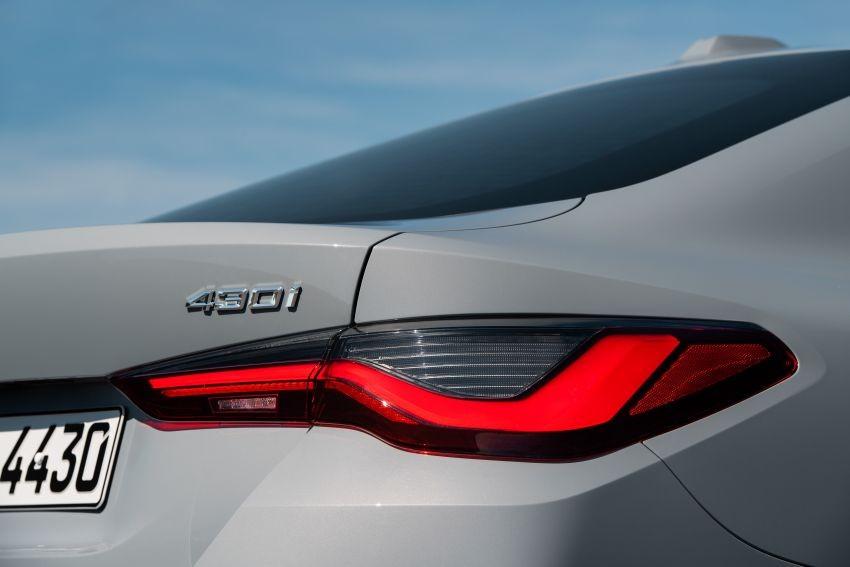Cụm đèn hậu LED của BMW 4-Series Gran Coupe 2022