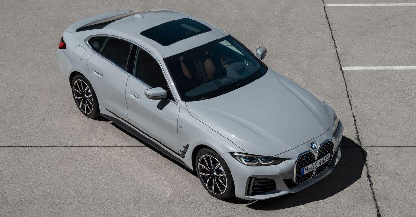 BMW 4-Series Gran Coupe 2022 có nhiều trang bị an toàn hiện đại
