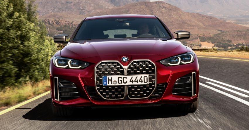 BMW 4-Series Gran Coupe 2022 dùng hệ truyền động mild hybrid với máy xăng 6 xi-lanh