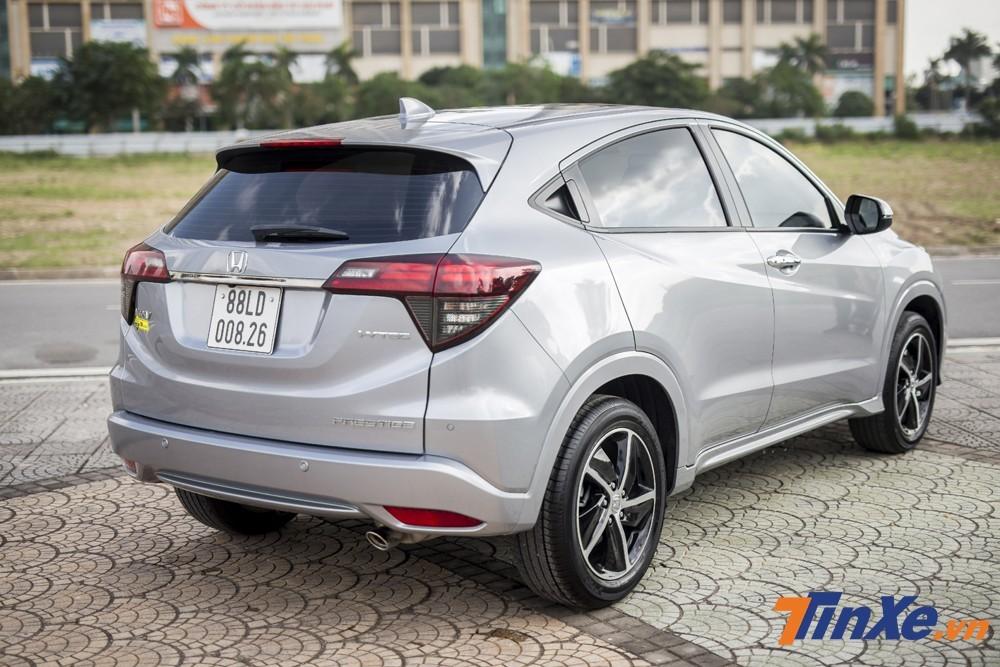Giá bán của Honda HR-V cao nhất phân khúc SUV đô thị cỡ B và thậm chí còn ngang với một số mẫu xe cỡ C.
