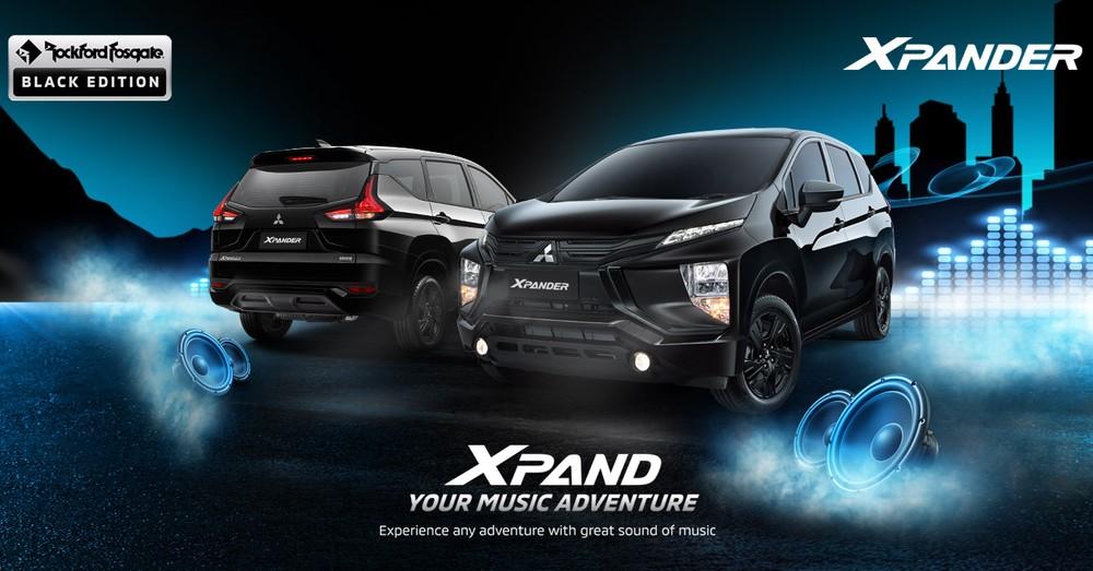 Mitsubishi Xpander Rockford Fosgate Black Edition 2021