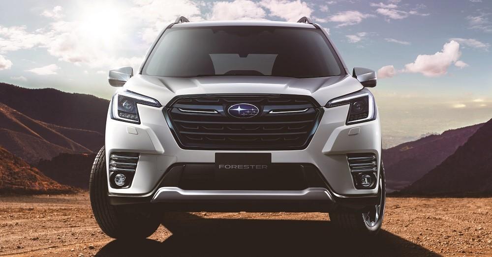 Cận cảnh thiết kế đầu xe của Subaru Forester 2021
