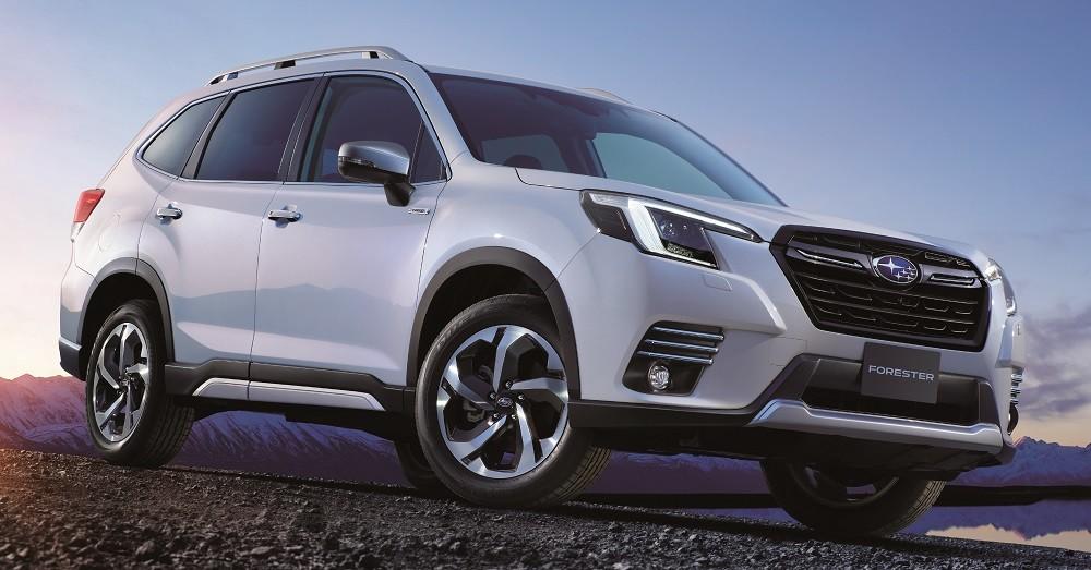 Subaru Forester 2021 trình làng với diện mạo mới