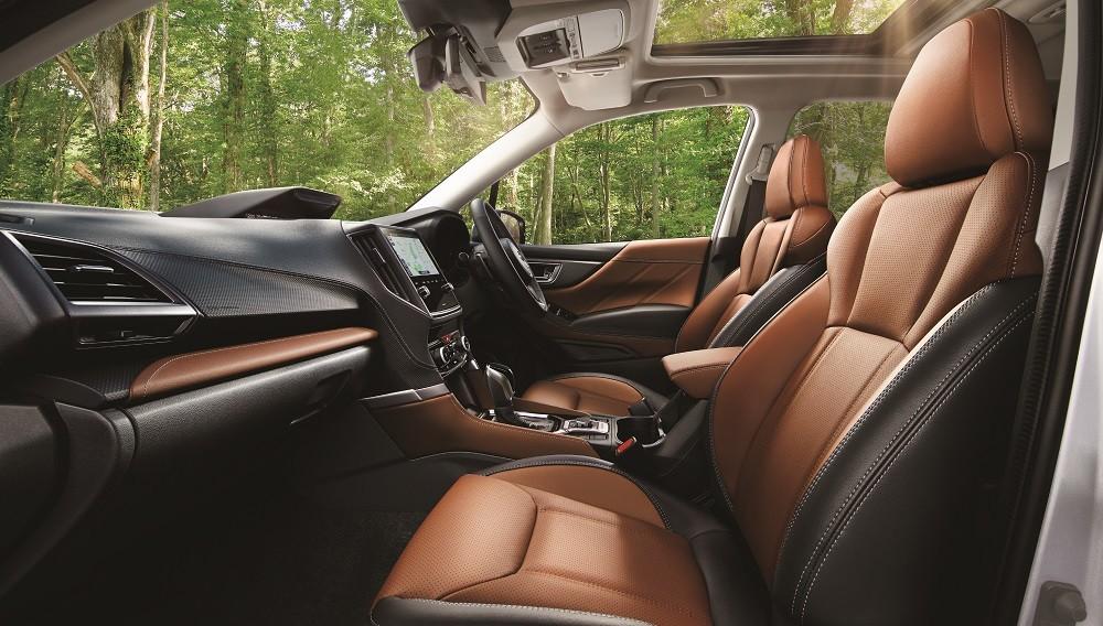 Nội thất của Subaru Forester 2021