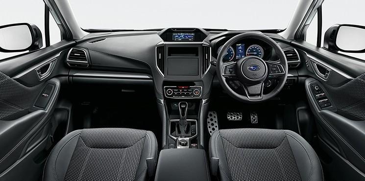 Nội thất của Subaru Forester 2021 bản Advance