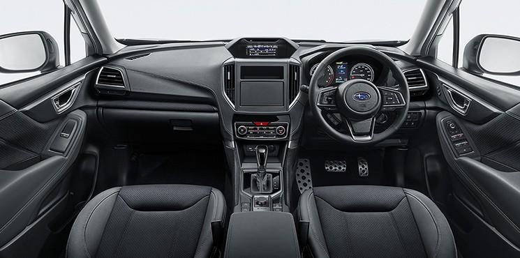 Nội thất của Subaru Forester 2021 bản Sport