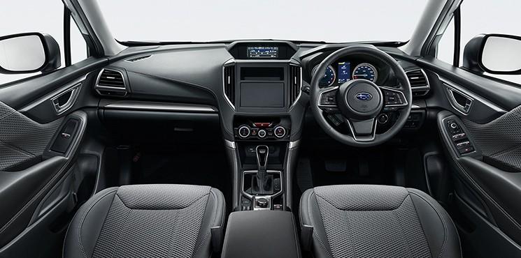 Nội thất của Subaru Forester 2021 bản Touring
