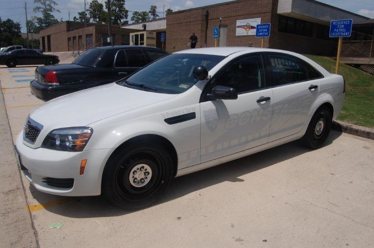 Xe ma Chevrolet Caprice của Sở cảnh sát hạt Harris