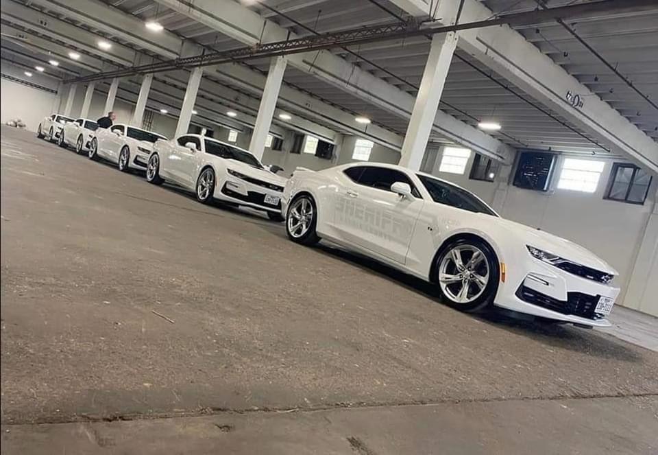 5 chiếc xe ma mang thương hiệu Chevrolet Camaro của Sở cảnh sát hạt Harris