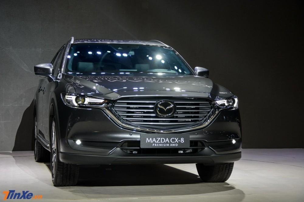 CX-8 vẫn là chiếc xe Mazda được giảm giá mạnh nhất trong tháng 6 này