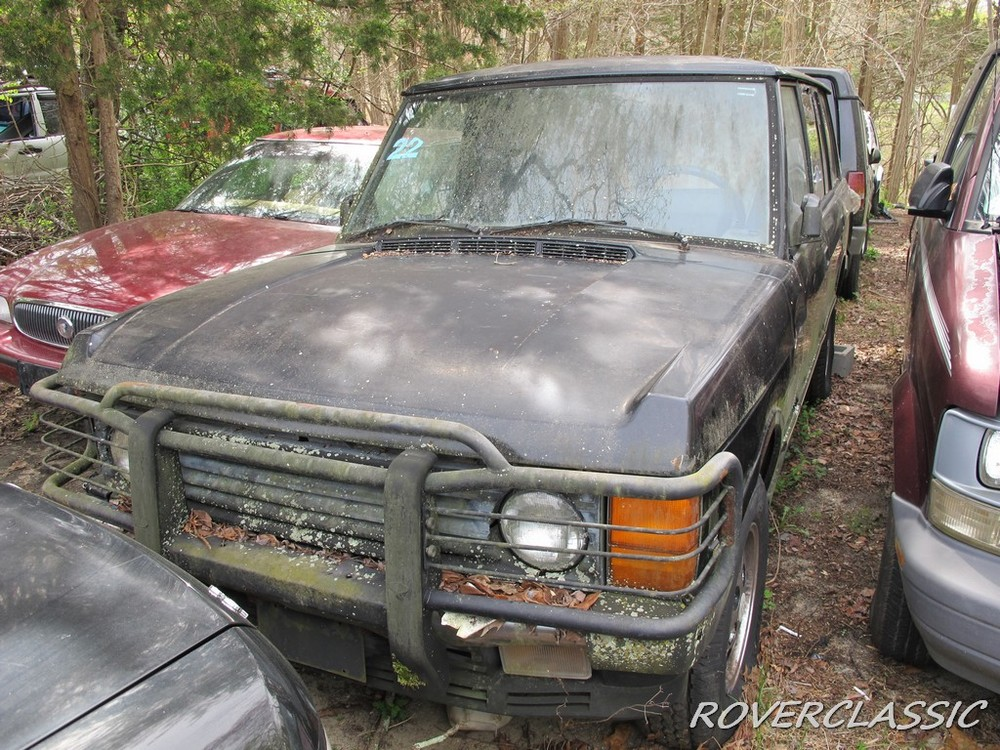 Những chiếc Range Rover này không thể chạy được mà cần phục chế
