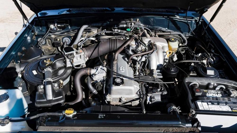 Động cơ của chiếc Toyota Land Cruiser