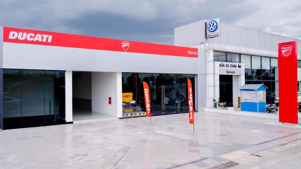 Showroom Ducati hoàn toàn mới tại khu vực Long Biên, Hà Nội