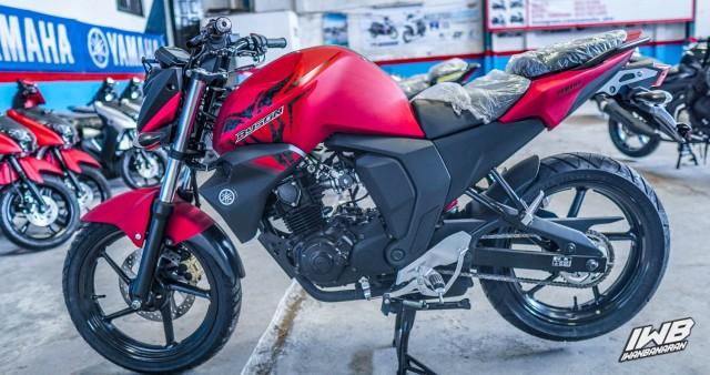 Yamaha Byson FI 2021 ra mắt phiên bản mới