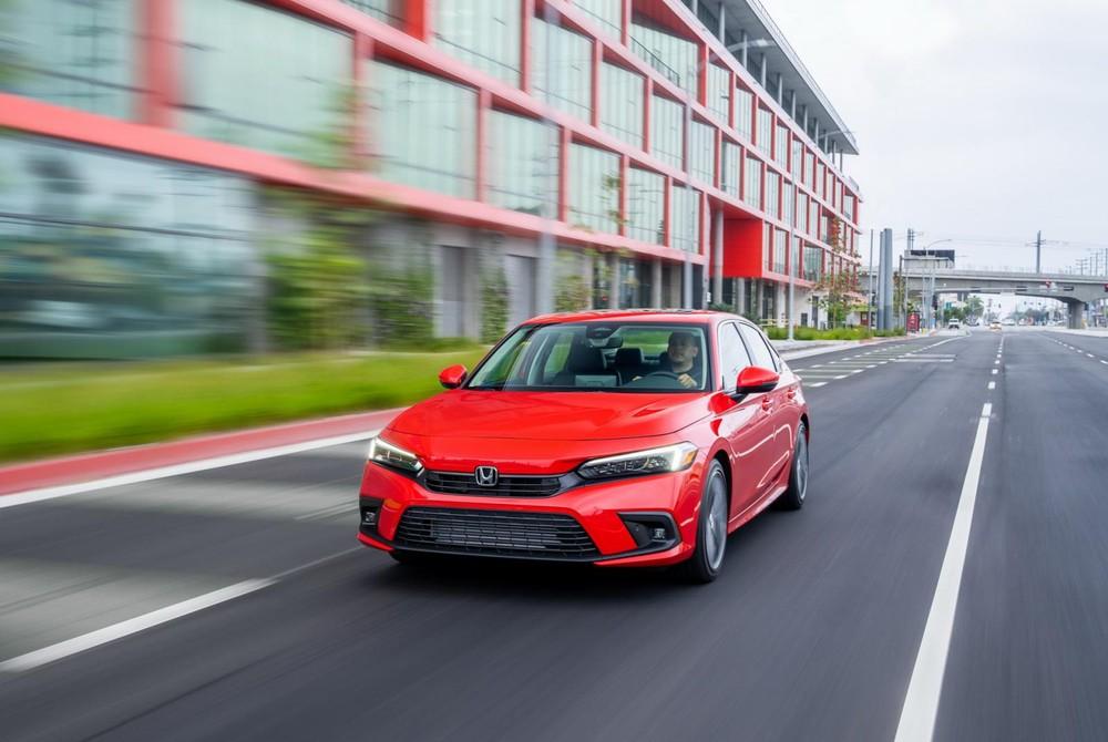 Honda Civic 2022 đã bắt đầu được bày bán tại thị trường Mỹ